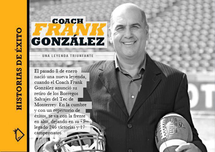 Biografía de Coach Frank González.