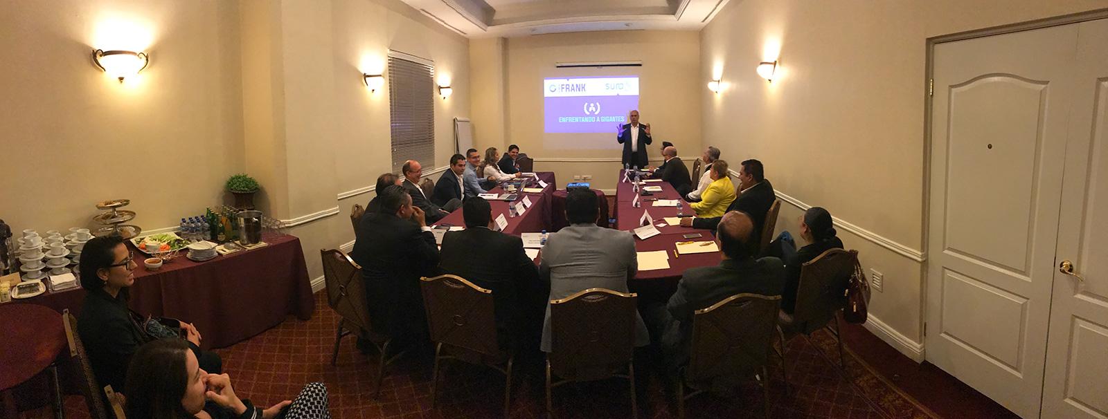 Conferencias de Coach Frank para Empresas.
